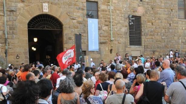 Continua la protesta dei sindacati e dei lavoratori
