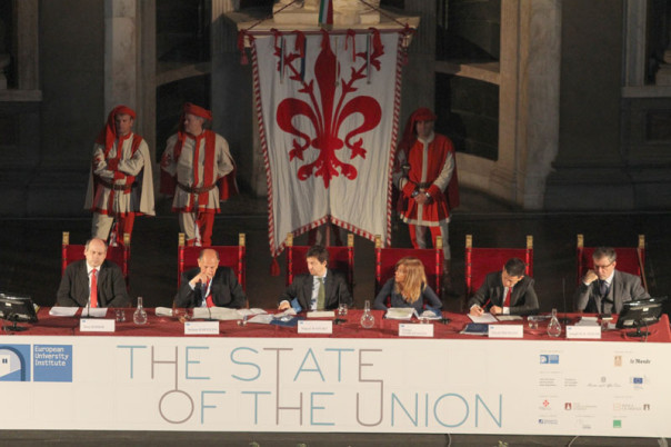 The state of the Union 2013 a Palazzo Vecchio