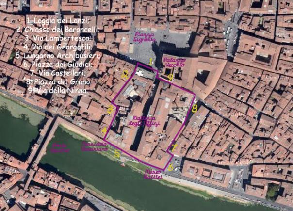 Il girotondo di lunedì a Firenze