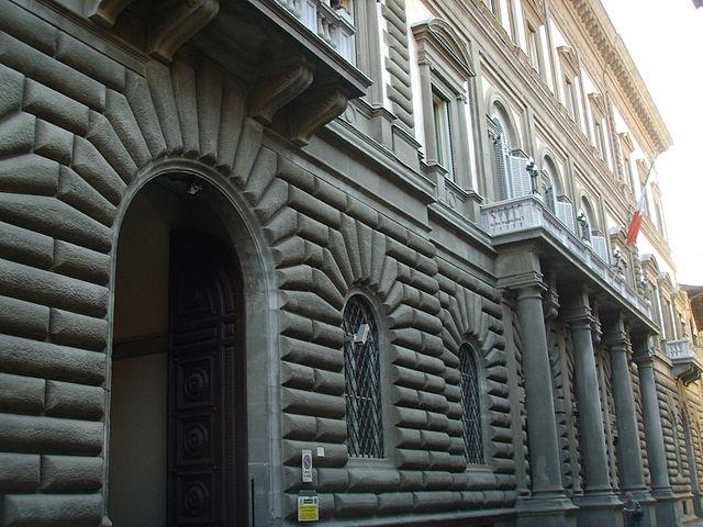 palazzo della Banca d'Italia a Firenze