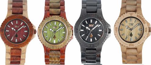 Gli orologi in legno di WeWood