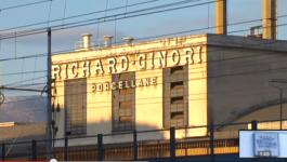 Lo stabilimento della Richard Ginori a Sesto Fiorentino