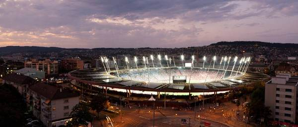 Letzigrund Stadion di Zurigo