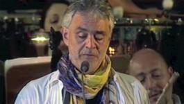 Andrea Bocelli invoca la rivoluzione morale nella politica italiana