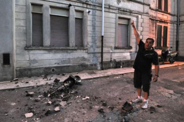 I danni del terremoto in Lunigiana