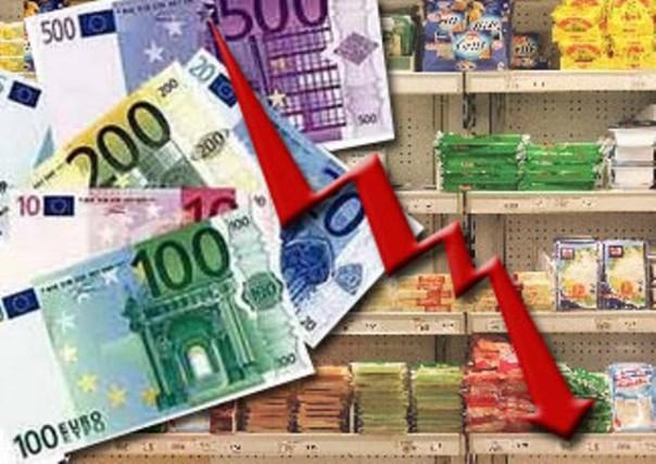 Inflazione ai minimi da 4 anni