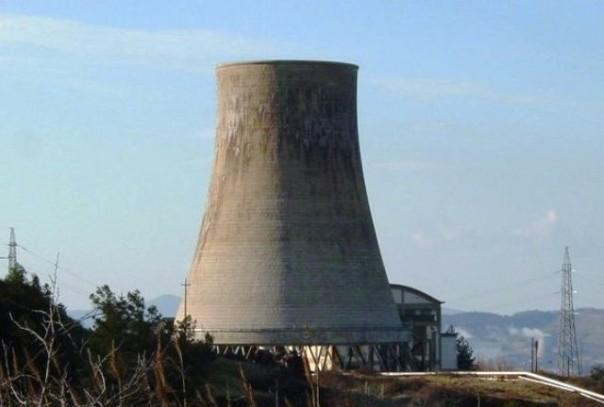 La centrale geotermica di Sasso Pisano