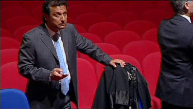 L'ex comandante Schettino al processo di Grosseto