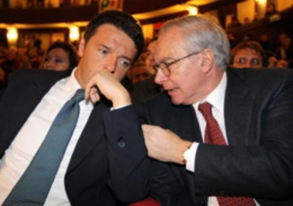 Matteo Renzi e Guglelmo Epifani