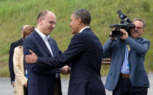 Letta ad Obama, invito in Toscana a Pisa