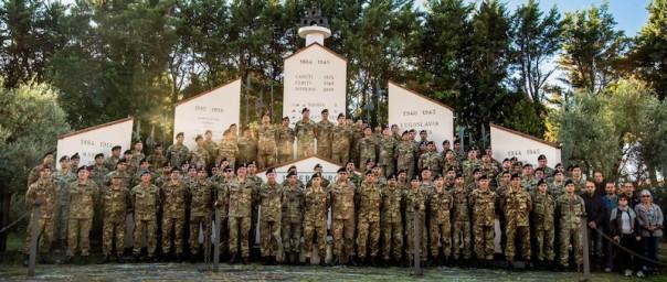 Personale della nuova Divisione Friuli dell'Esercito