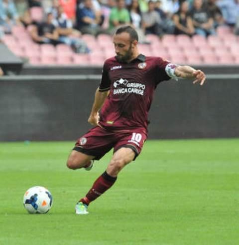 Il giocatore del Livorno Luci