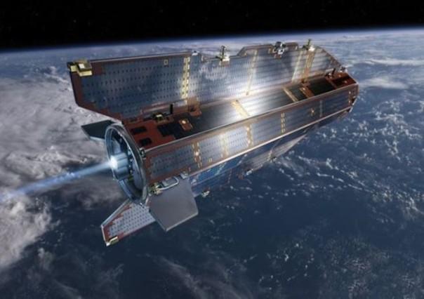 Il satellite Goce in orbita attorno alla Terra