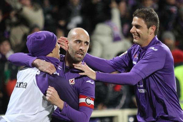 Borja Valero torna titolare contro la Roma