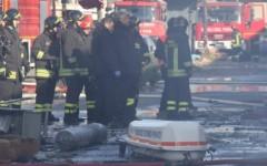 Incendio nella fabbrica a Prato, Rossi: «Faccio appello al Governo»