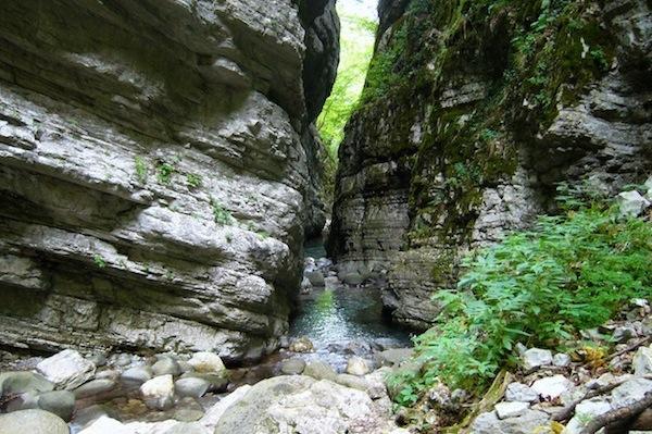 L' Orrido di Botri, nei comuni di Bagni di Lucca e Coreglia Antelminelli, in Lucchesia