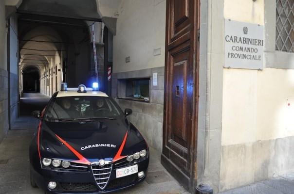 Sono intervenuti i carabinieri del Radiomobile di Firenze