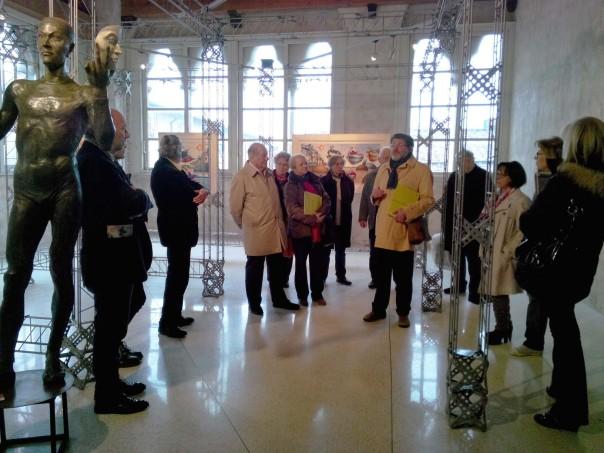 Inaugurata a Lucca da FiorGen la seconda mostra d'arte in due mesi