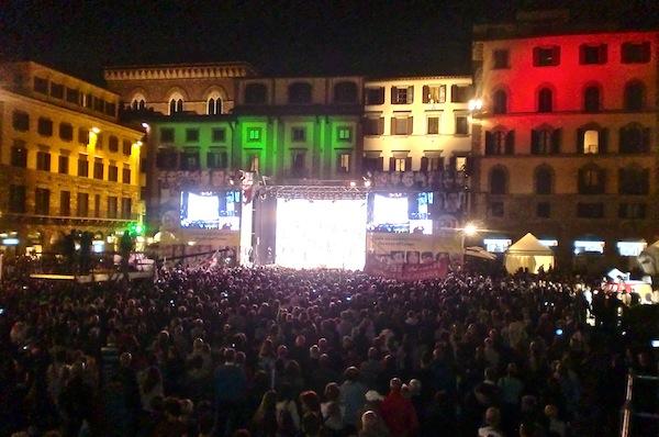 Piazza Signoria Renzi