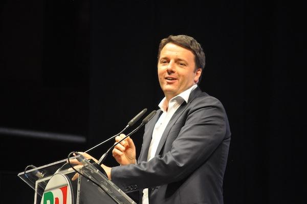 Renzi in pza Signoria 2