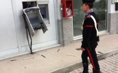 Bancomat esploso a Barberino di Mugello