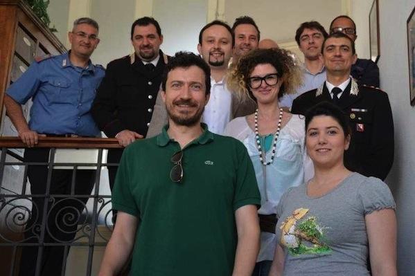La visita della Giunta comunale di Borgo San Lorenzo ai Carabinieri
