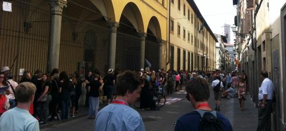 San Giovanni, turisti in coda per il David alla galleria dell'Accademia
