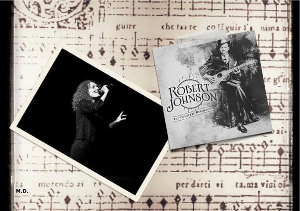 Mya Fracassini e Robert Johnson