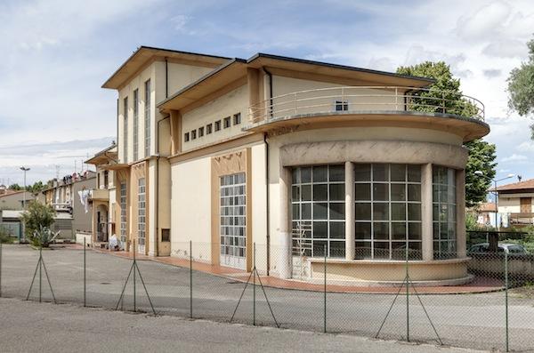 L'ex sottostazione di energia elettrica a Peretola