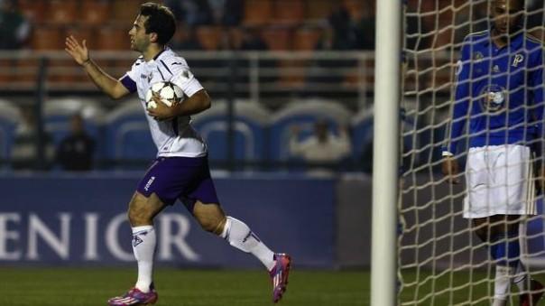 Pepito Rossi dopo il gol del 2-1