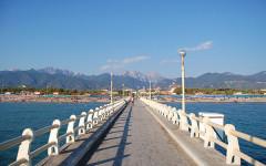 Il pontile del Forte dei Marmi