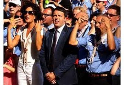 Matteo Renzi e gli scout