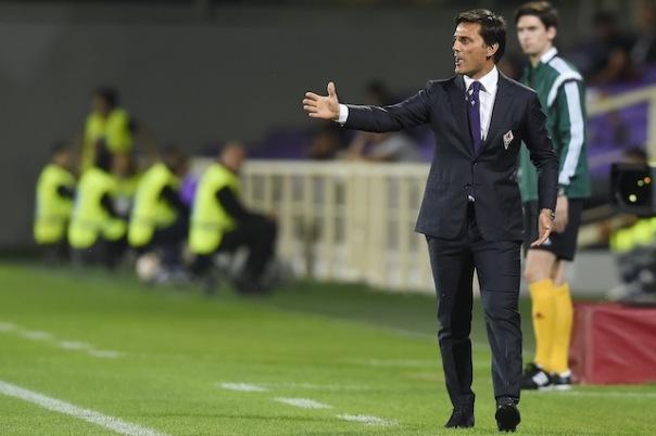 Montella soddisfatto per il successo della Fiorentina