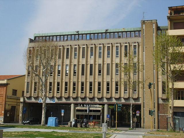 La sede de La Nazione, nel viale della Giovine Italia, a Firenze