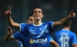 Manuel Pucciarelli: suo il gol degli azzurri a Marassi
