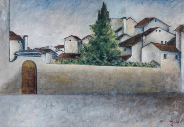 Ottone Rosai, Piazza del Carmine, 1922