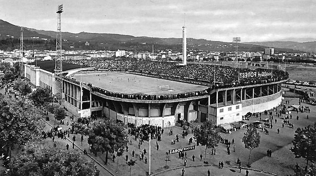 Lo stadio comunale di Firenze, prima di prendere il nome di Artemio Franchi
