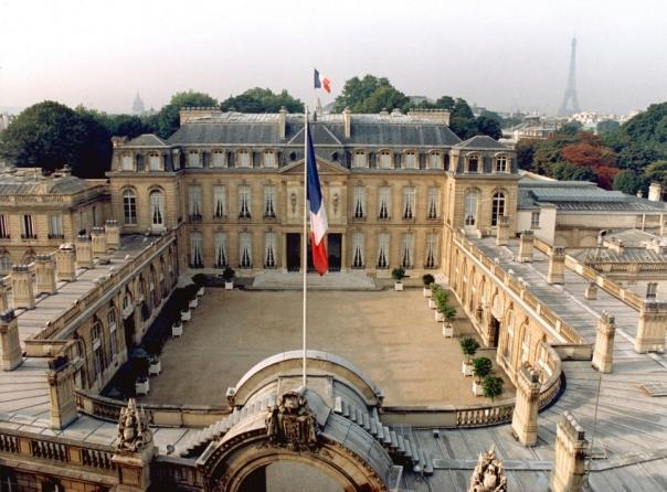 Il Palazzo dell'eliseo a Parigi