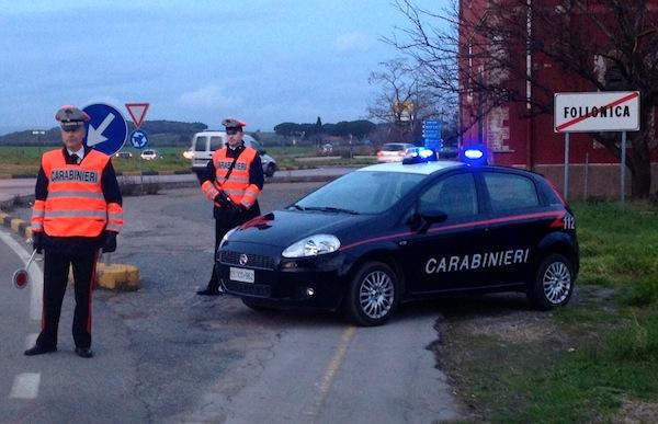 I truffatori sono stati bloccati dai Carabinieri di Follonica