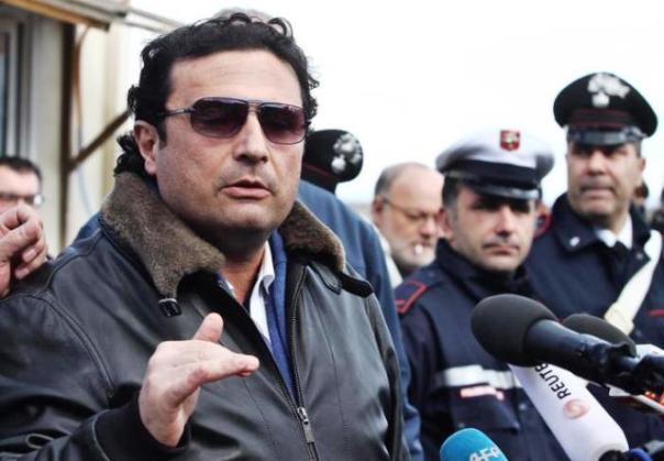 L'ex comandante della Costa Concordia, Francesco Schettino, assente oggi durante la requisitoria e la richiesta di condanna da parte dell'accusa