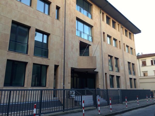 L'immobile di via Fattori già sede degli uffici del Giudice di pace