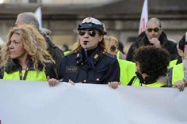 Corteo dei Vigili urbani