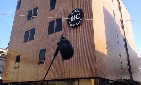 L'ex hotel Cristallo a Santa Croce sull'Arno