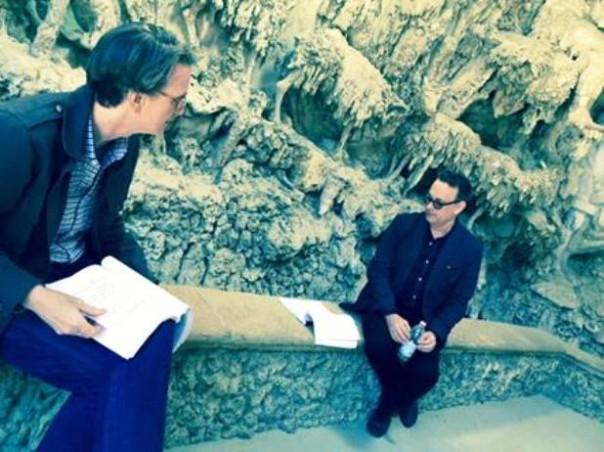 """Boboli, l'attore Tom Hanks (a destra): è in città per girare """"Inferno"""" di Ron Howard"""