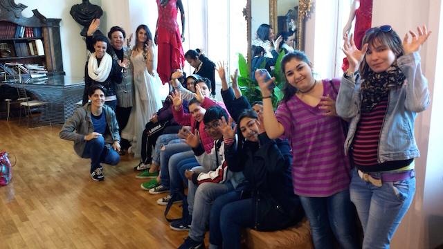 Il gruppo Mani Bianche Roma ospite della stilista Pola Cecchi