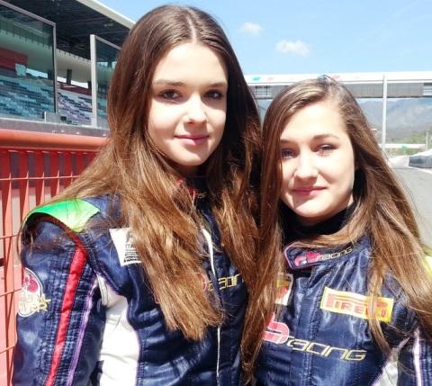 Mugello: Julia e Wiktoria, le gemelle che gareggiano insieme sulle auto da corsa