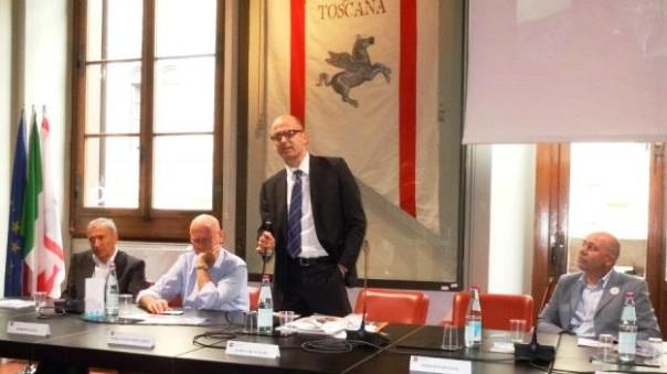 Stefano Mugnai, candidato di Forza Italia contro Enrico Rossi (foto Facebook - Mugnai)