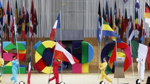 Expo 2015 a Milano, l'inaugurazione ufficiale
