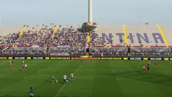 Un migliaio di tifosi all'allenamento aperto della Fiorentina