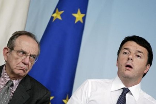 Renzi e Padoan